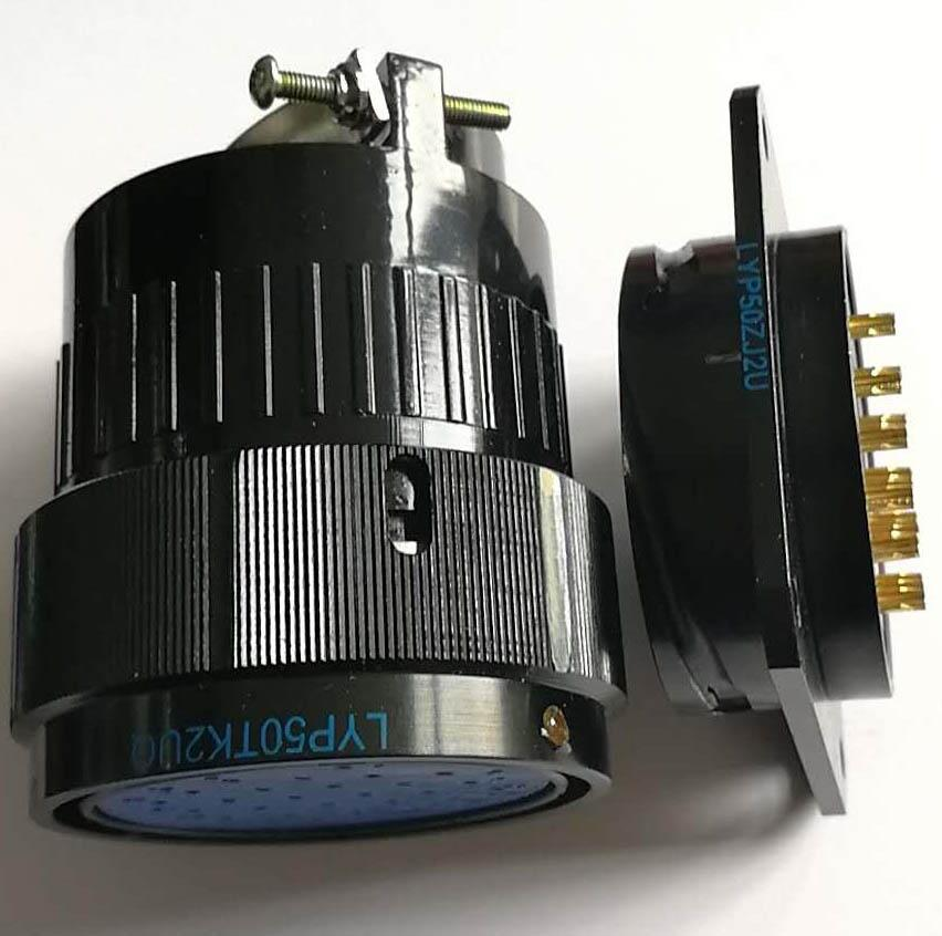 LYP50系列圆形电连接器,航空插头座 3