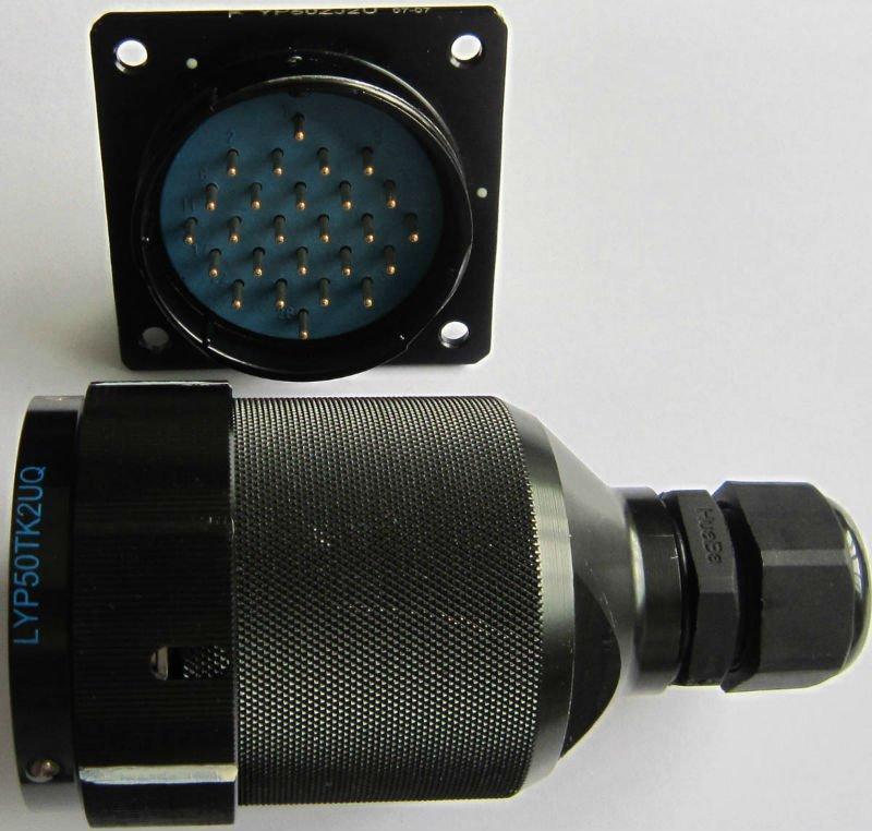 LYP50系列圆形电连接器,航空插头座 4