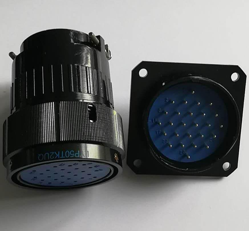 LYP50系列圆形电连接器,航空插头座 5
