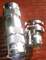 small circular water proof connectors