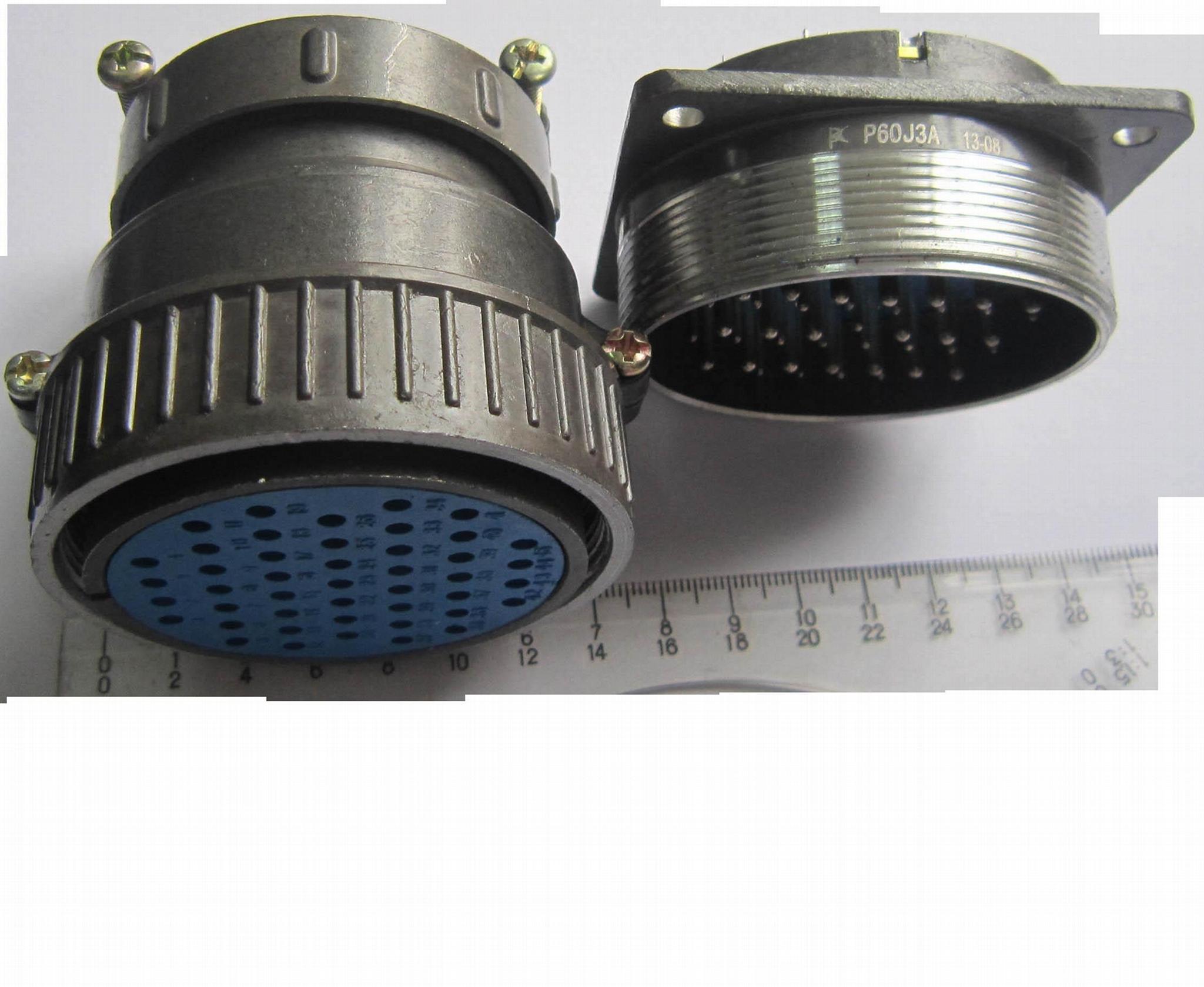 P60 型通用型圆形电连接器,航空插头 4