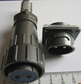 FQ24-2防水型90度弯头圆形电连接器 3