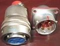 电源系列圆形电连接器,航空插头座 3
