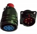 电源系列圆形电连接器,航空插头座 4