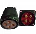 电源系列圆形电连接器,航空插头座 5