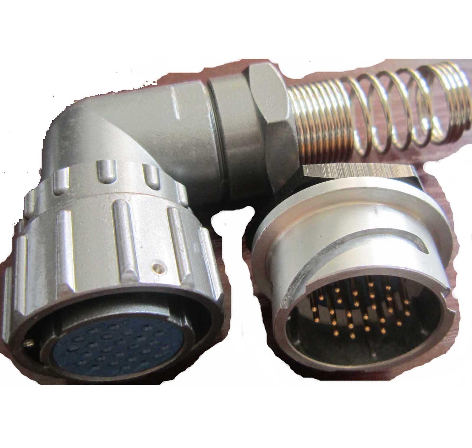 FQ24圆形螺母固定式插座 2