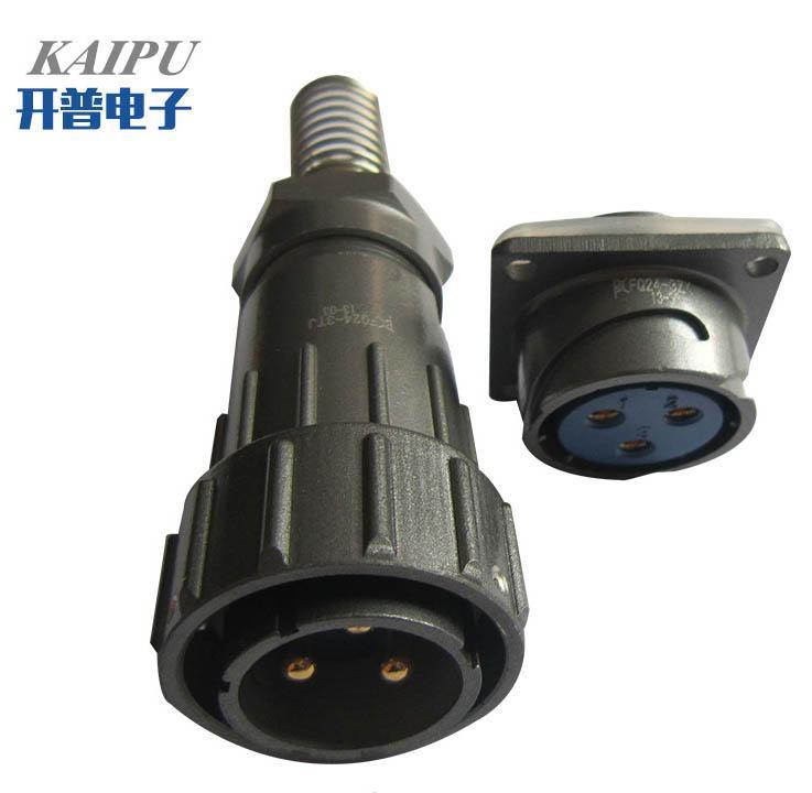 FQ24-3防水型90度弯头圆形电连接器 3