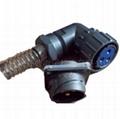 FQ24-3防水型90度弯头圆形电连接器 4
