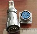 FQ24型大电流防水插头,面板式插座 4