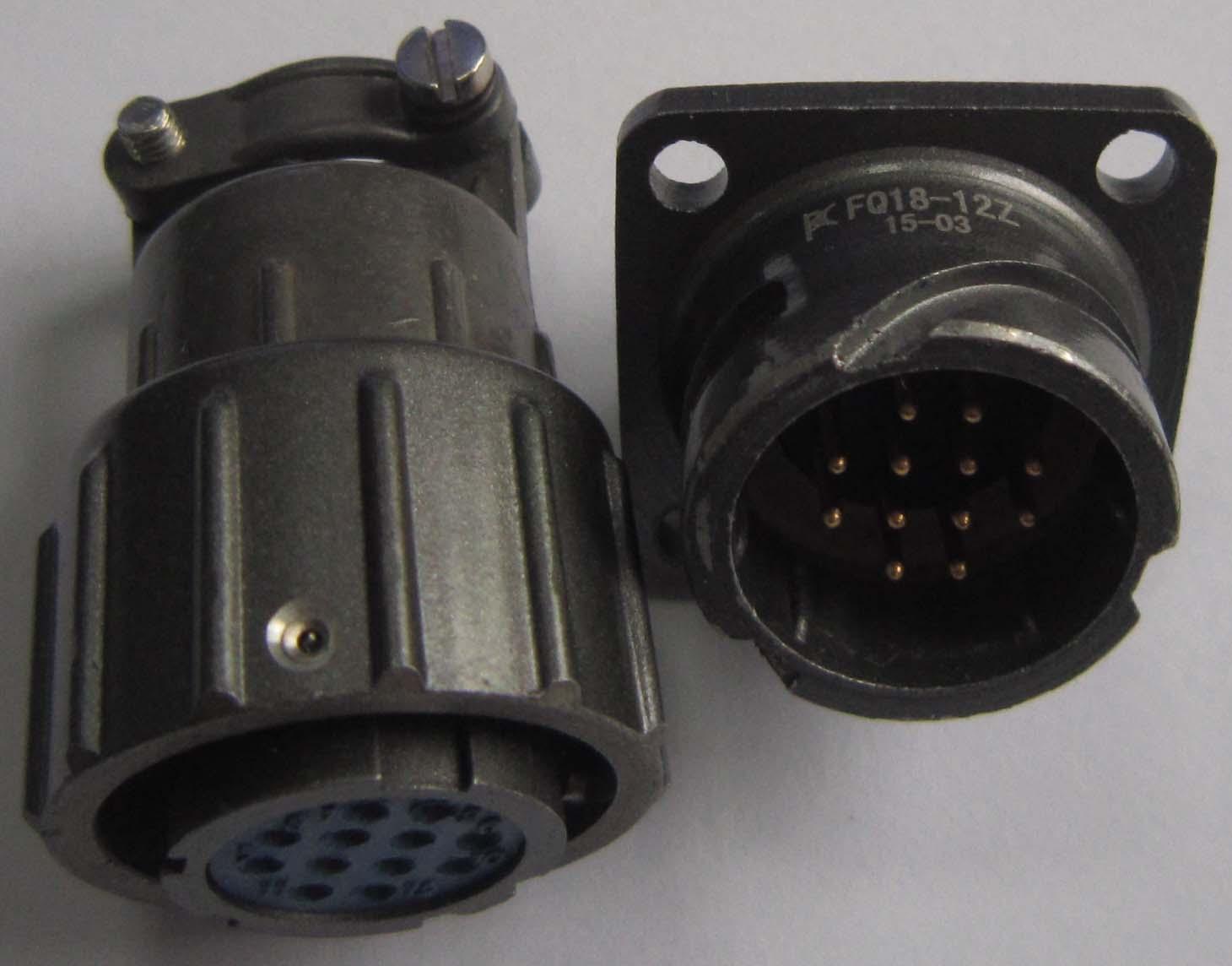 Q18型系列电连接器,航空插头 3