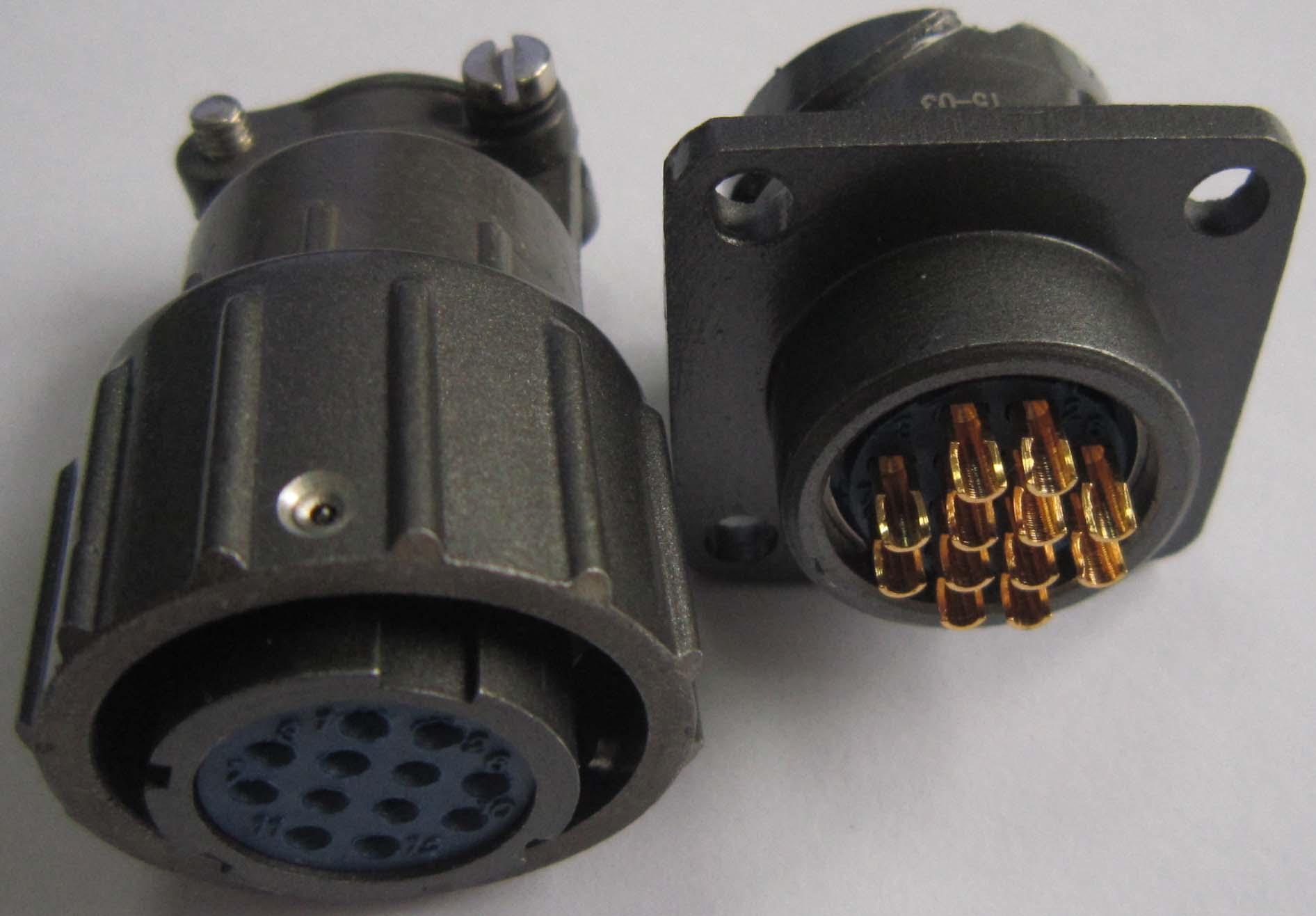 Q18型系列电连接器,航空插头 4