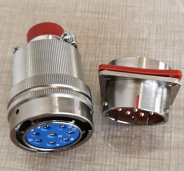仿美军标系列圆形电连接器,航空插头座 5