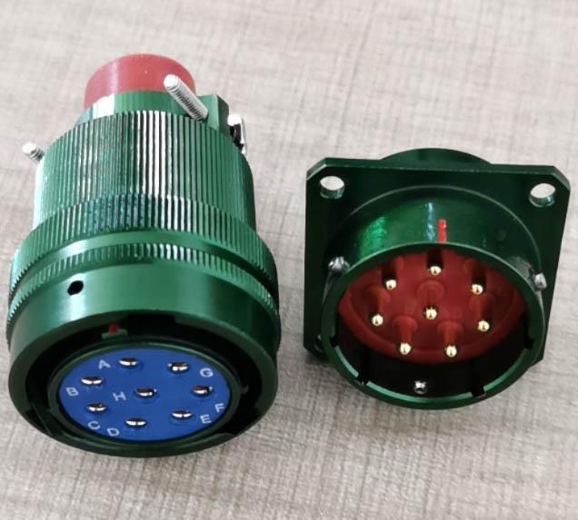 仿美军标系列圆形电连接器,航空插头座 8