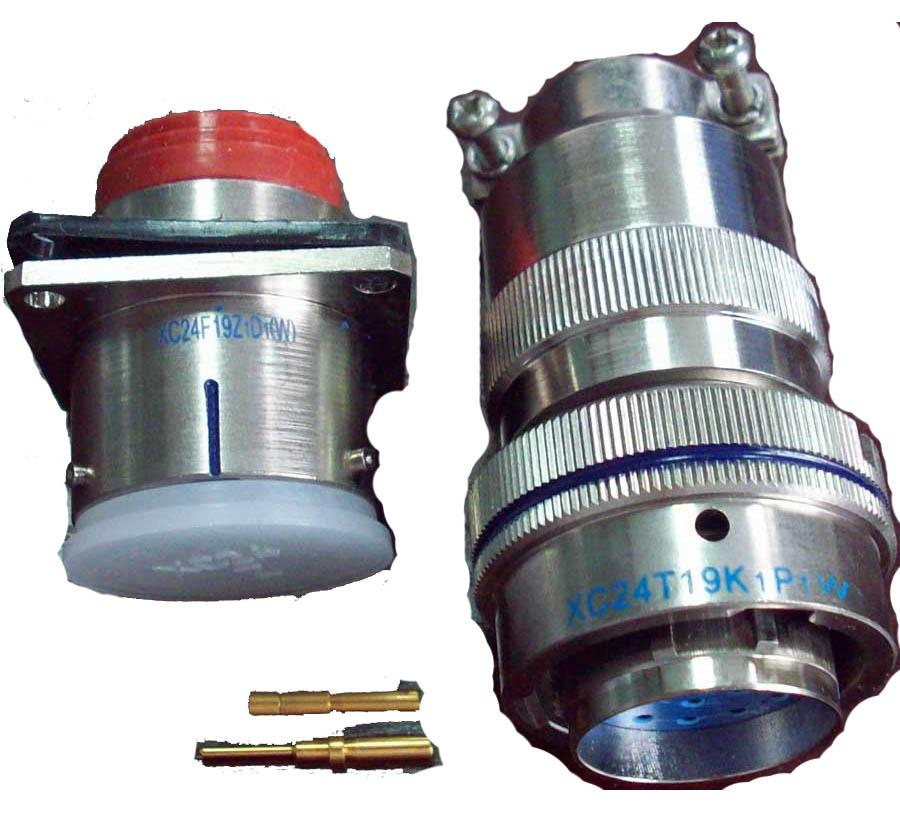 XC24 series military connectors