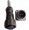 电连接器,FQ防水型圆形接插件 2