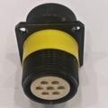 铁路圆形电连接器TY4-7芯