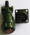 circular connectors kp2 meet 2PM-22