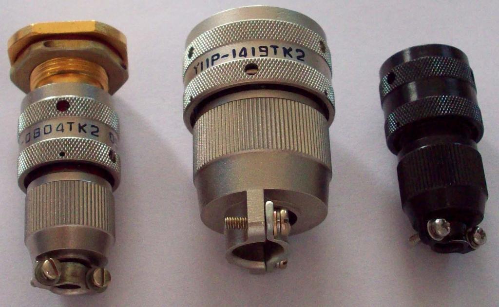 Y11系列圆形密封式电连接器,航空插头座 1
