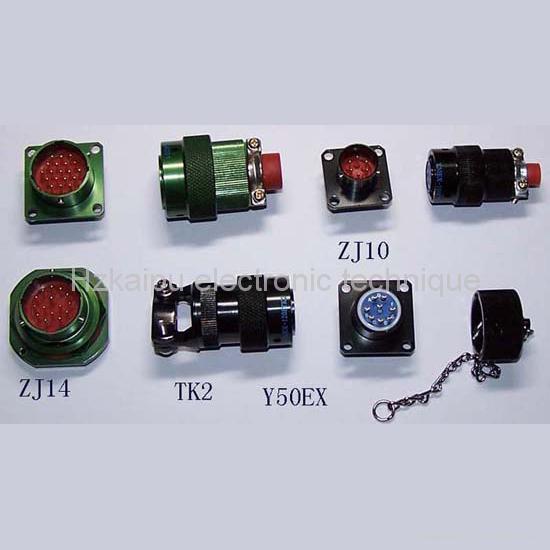 仿美军标系列圆形电连接器,航空插头座 2