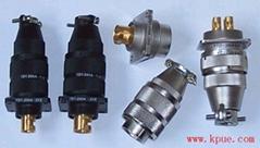 YD1系列圆形大电流电连接器,电源插头座