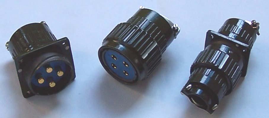 YP series bayonet coupling circular connectors 1