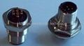 小圆形M12航空插头