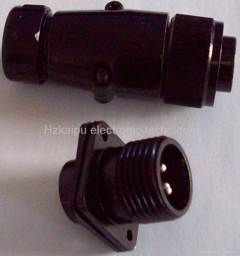 防雨型航空插头,YD系列圆形电连接器 1