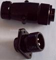 防雨型航空插头,YD系列圆形电