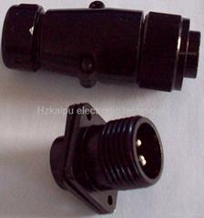 防雨型航空插头,YD系列圆形电连接器