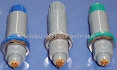 plastic push pull connector similar as lemo