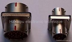 MIL-C-26482系列產品穿牆插座