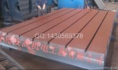 山東淄博鑄鐵劃線平板