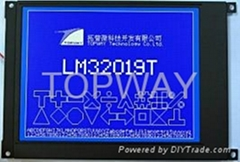320240点阵5.7寸LCD液晶显示模块LM32019