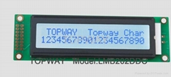 20 2字符点阵液晶显示模块LMB202D系列