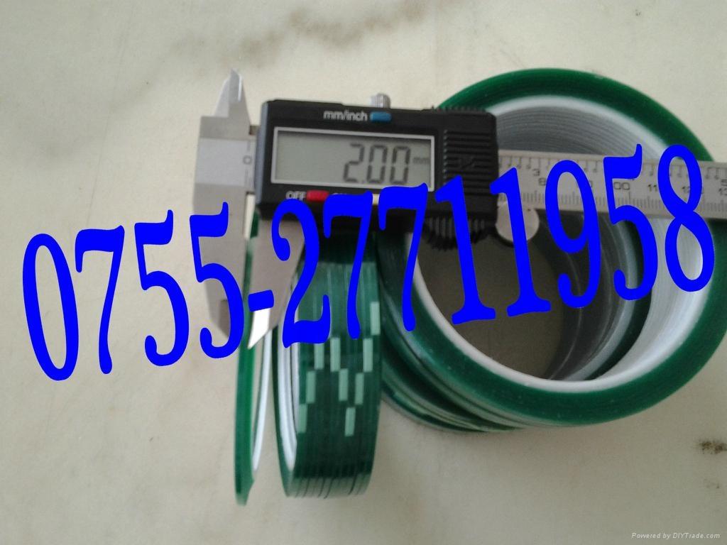 绿色PET高温胶带   1