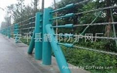 钢丝绳缆索护栏