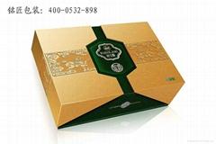 大连上品堂棒棰岛包装盒