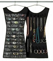 dress hanging jewellery organizer