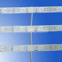 SMD2835 DC24V rigid pcb LED light bar with lens