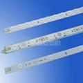 SMD2835 DC24V rigid pcb LED light bar with lens  5
