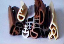 耐高溫硅膠密封條 1
