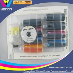 ciss dye ink for Epson Canon HP Brother universal refill ink