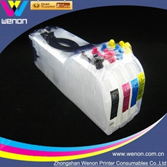 Empty Refillable Cartridge for Brother LC12 LC17 4 Color Ink Cartridge