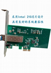 INTEL210 PCI-E 千兆光纤网卡