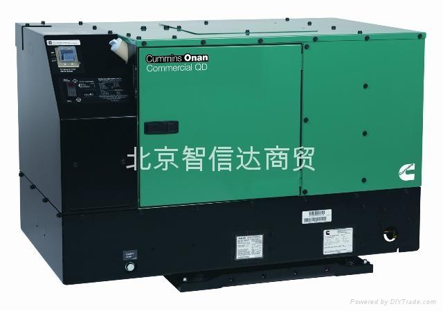 专业车载静音柴油发电机 1