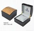 供應木質噴漆手錶盒
