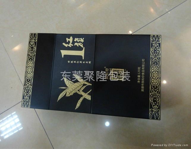 東莞高檔木盒噴漆茶葉盒 2