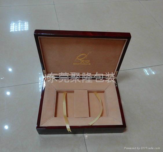 東莞高檔木盒噴漆茶葉盒 3
