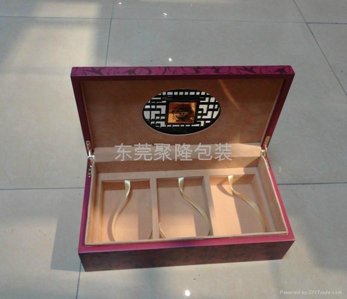 東莞高檔木盒噴漆茶葉盒 5