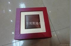 高檔噴漆金銀幣包裝木盒